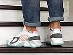 Мужские кроссовки Adidas Streetball (бело-оранжевые), фото 3