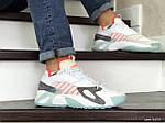 Мужские кроссовки Adidas Streetball (бело-оранжевые), фото 4