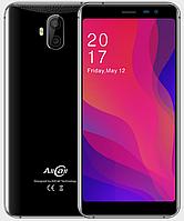 "Смартфон AllCall Rio X Black 1/8Gb, 13+2/5+2Мп, 2sim, 5,5"" IPS, 2850мАч, GPS, 4 ядра, 3G"