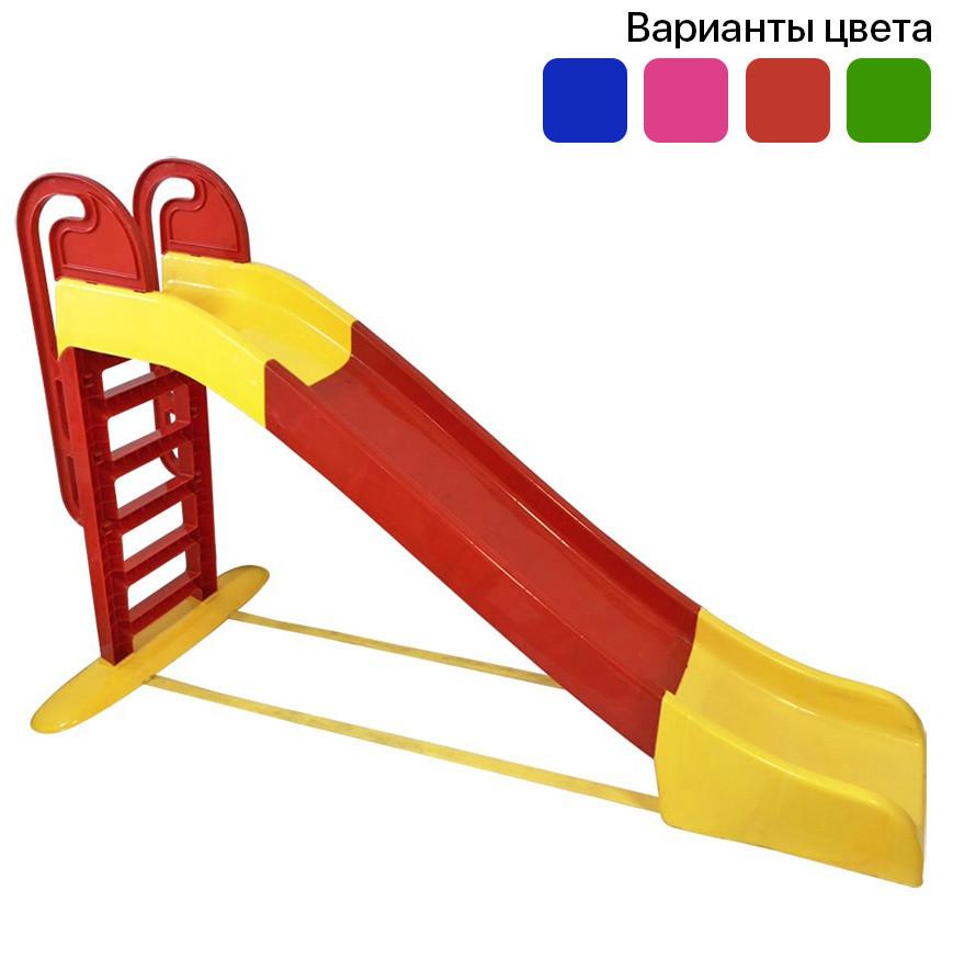 Горка детская пластиковая 243 см спуск для детей (гірка дитяча пластикова для дітей)