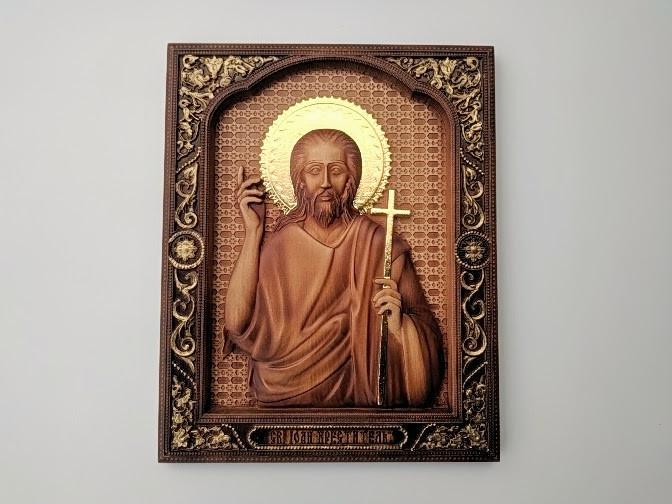 """Ікона """"Іван Хреститель"""", """"Іоан Хреститель"""", """"Іоанн Предтеча"""""""