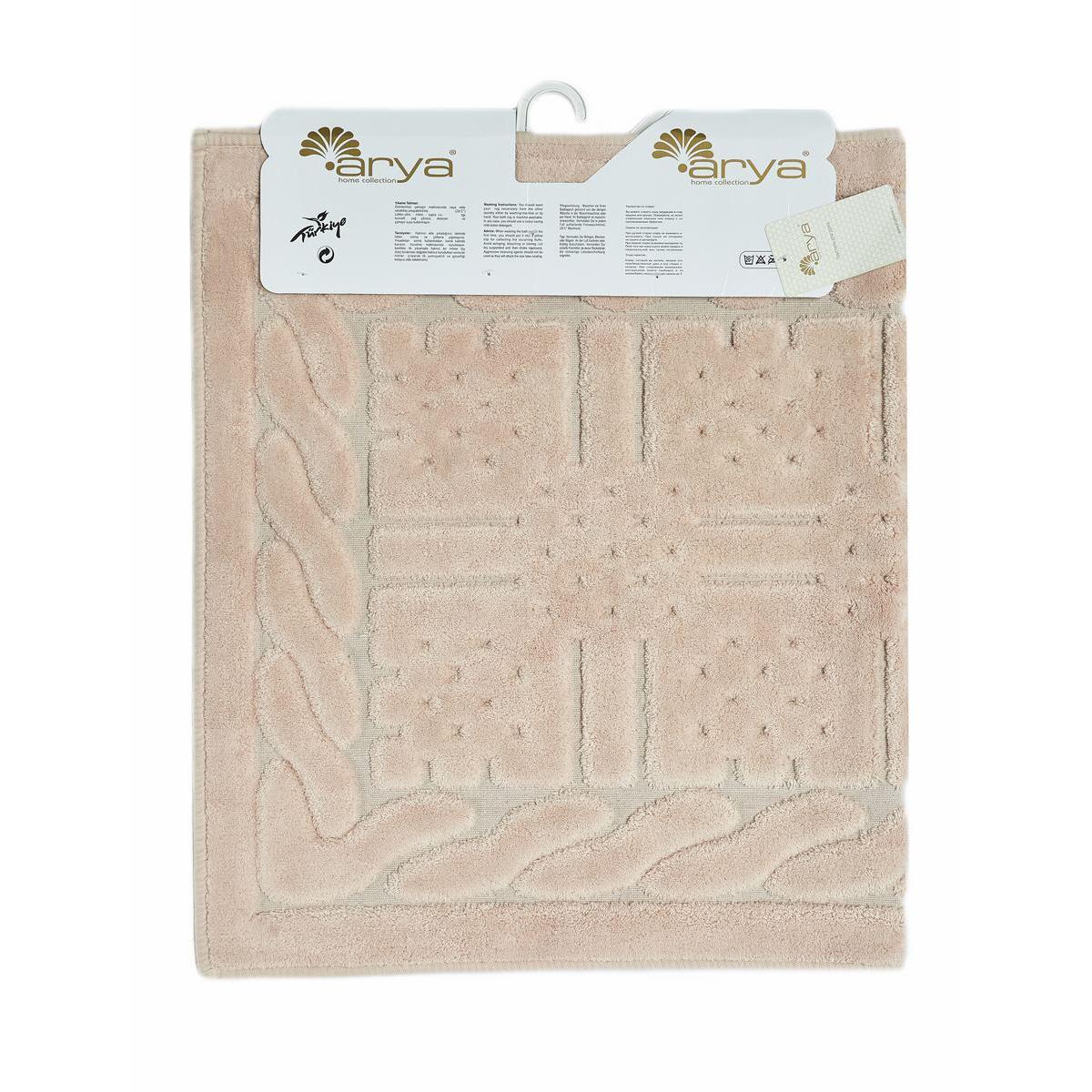 Коврик коврик в ванную Arya Berceste 60х100 / 70х120 (1380046)