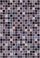 400х275 Керамічна плитка стіна Гламур 4Т ожиновий, фото 1