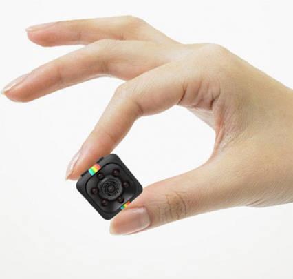 Мини камера SQ11 1920*1080P Full HD черная, фото 2