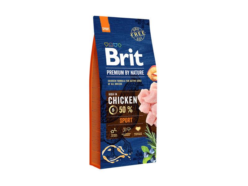 Корм для собак Brit Premium Dog Sport 15кг