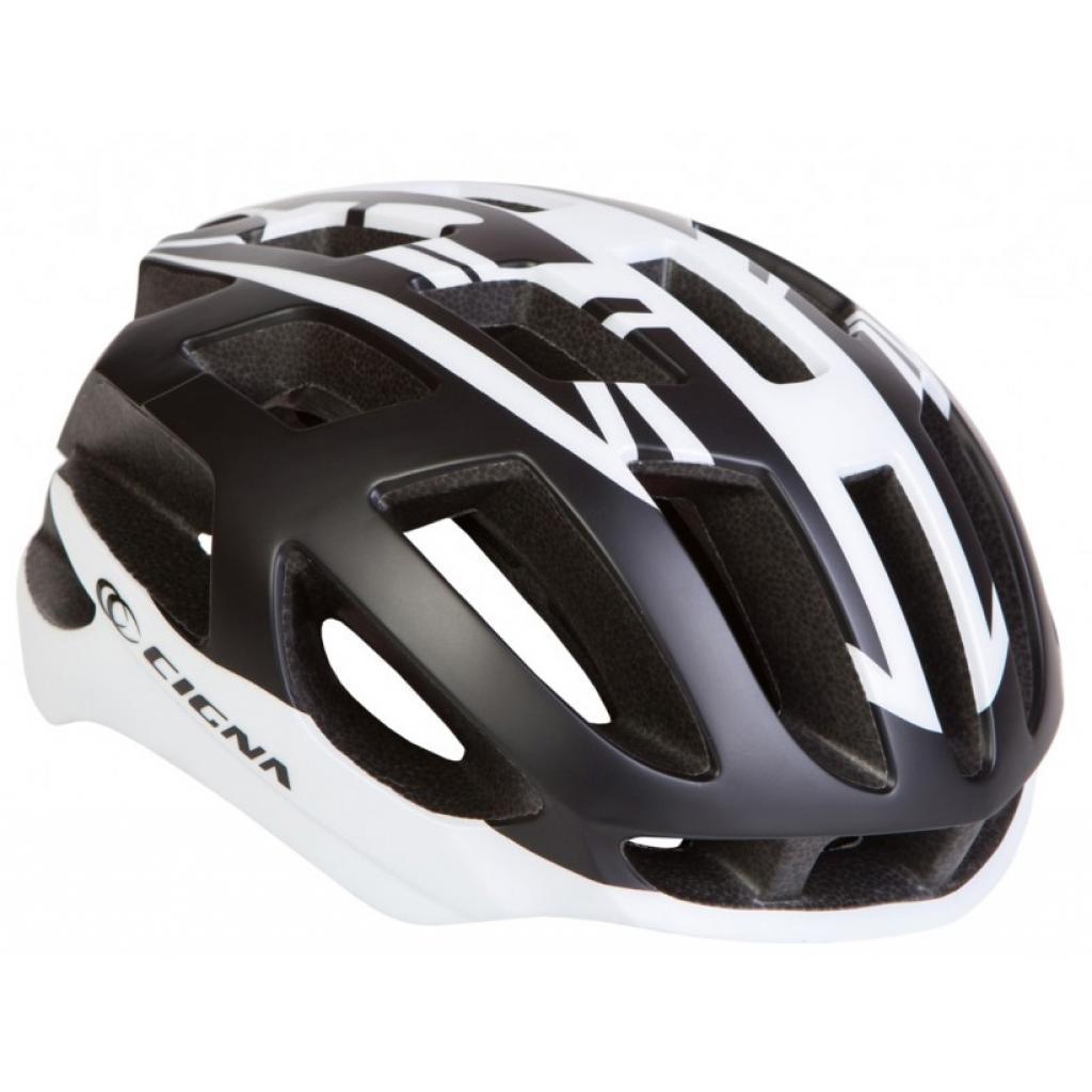 Шлем Velotrade СIGNA TT-4 чёрно-белый L (58-61см) (HEAD-023)