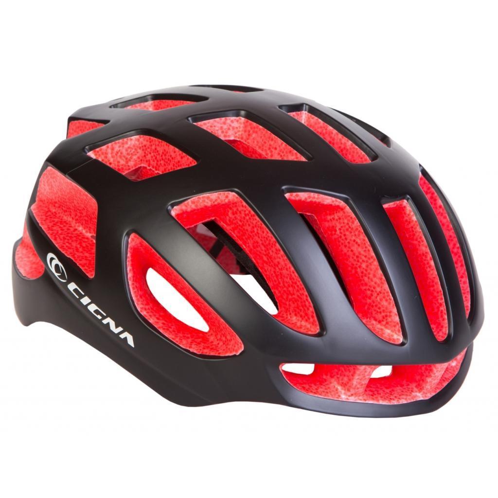 Шлем Velotrade СIGNA TT-4 чёрно-красный L (58-61см) (HEAD-024)