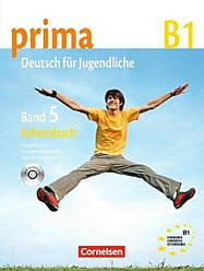 Prima Deutsch fur Jugendliche 5 Arbeitsbuch mit Audio-CD