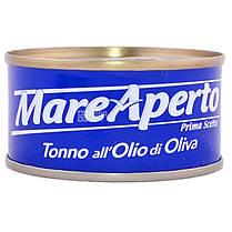Тунец Mare Aperto Natural в оливковом масле 80 г Италия