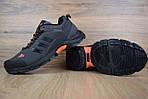Мужские зимние кроссовки Adidas Climaproof (серо-оранжевые), фото 5