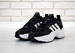 Мужские кроссовки Adidas Magmur (черно-белые), фото 2