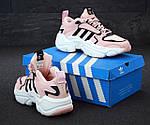 Женские кроссовки Adidas Magmur (пудрово-белые), фото 6
