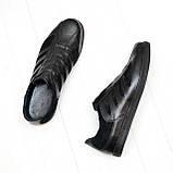 Мужские кроссовки кожаные от производителя, фото 2