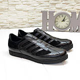 Мужские кроссовки кожаные от производителя, фото 3