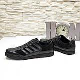 Мужские кроссовки кожаные от производителя, фото 4