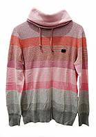 F1-00586, Светр чоловічий Kappa, світшот чоловічий, жіночий, сірий-рожевий