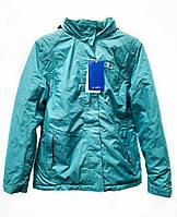 F1-00589, Куртка жіноча COASTGUARD,бірюзова