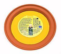 F1-00576, Свеча ароматическая декоративная в глиняной миске Melinera, большая