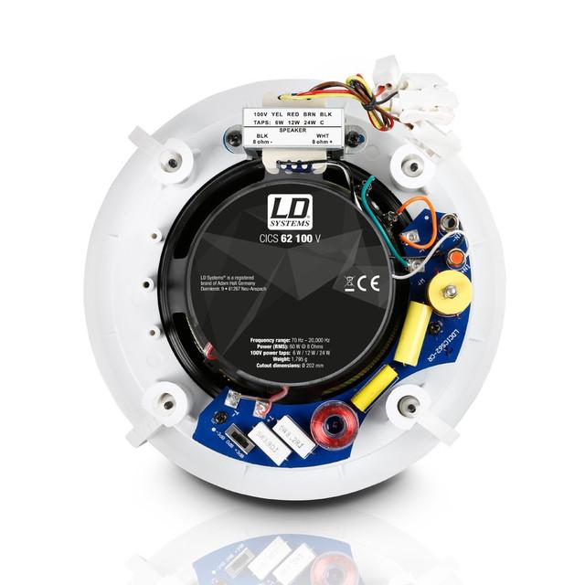 Потолочная трансляционная акустическая система LD Systems CICS62100V