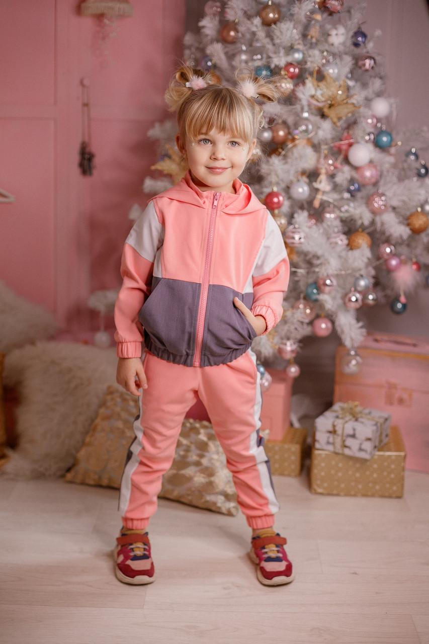 Модный детский костюм для девочки