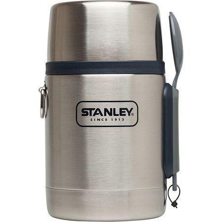 Термос харчовий з ложкою Stanley Adventure 500 мл сталевий (10-01287-023)