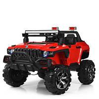 Детский двухместный электромобиль «Hummer» полноприводный M 4107 EBLR-3, красный