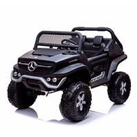 Детский электромобиль Джип M 4133 EBLRS-2, Mercedes Benz, 4WD, автопокраска, черный