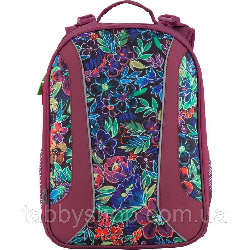 Рюкзак школьный каркасный KITE 703 Flowery