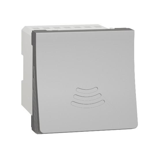 Schneider Дзвоник електр. 2 модуля алюм.