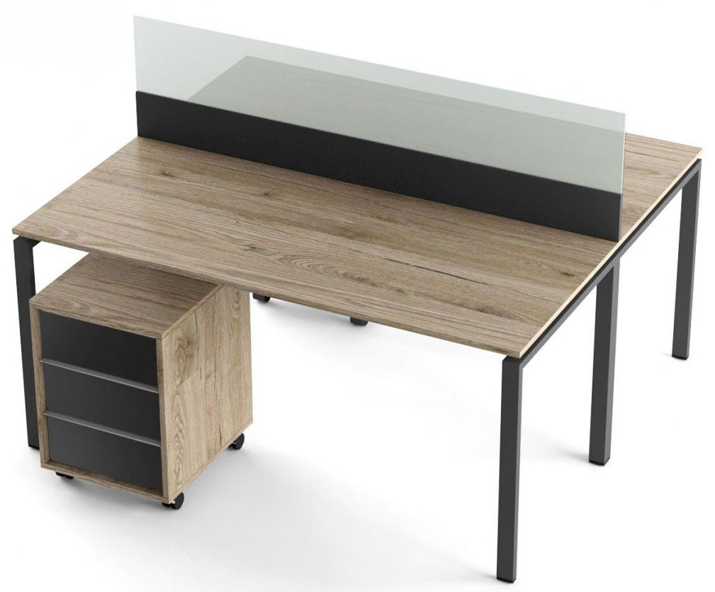 Комплект 2 стола и 2 тумбы Promo T8s ТМ Salita