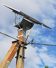 Автономна система освітлення Solaris LSM30S з кріпленням на бетонну опору