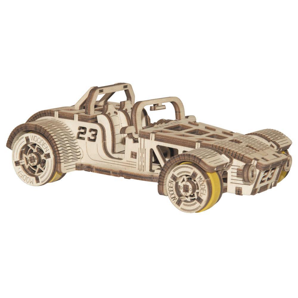 Механический 3D пазл Roadster WOODEN.CITY