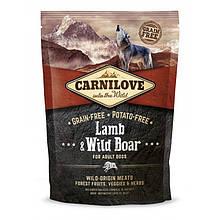 Корм для собак Carnilove Lamb & Wild Boar 1.5 кг