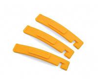 AUTHOR Бортировочные лопатки AHT-07 желтые, пластик, 3 шт.в компл.,вес 40 гр.
