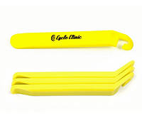 AUTHOR Бортировочные лопатки Cycle Clinic TL4 желтые, пластик, 3 шт.в компл., вес 40 гр.