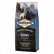 Корм для собак Carnilove Adult Salmon 12кг
