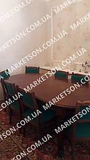 Чехлы на стулья универсальные с оборкой 6 штук.Турция., фото 3