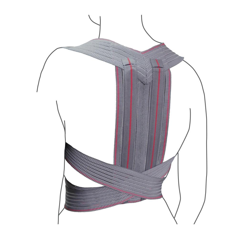 Корректор осанки эластичный детский R2201 бандаж поддерживающий для спины