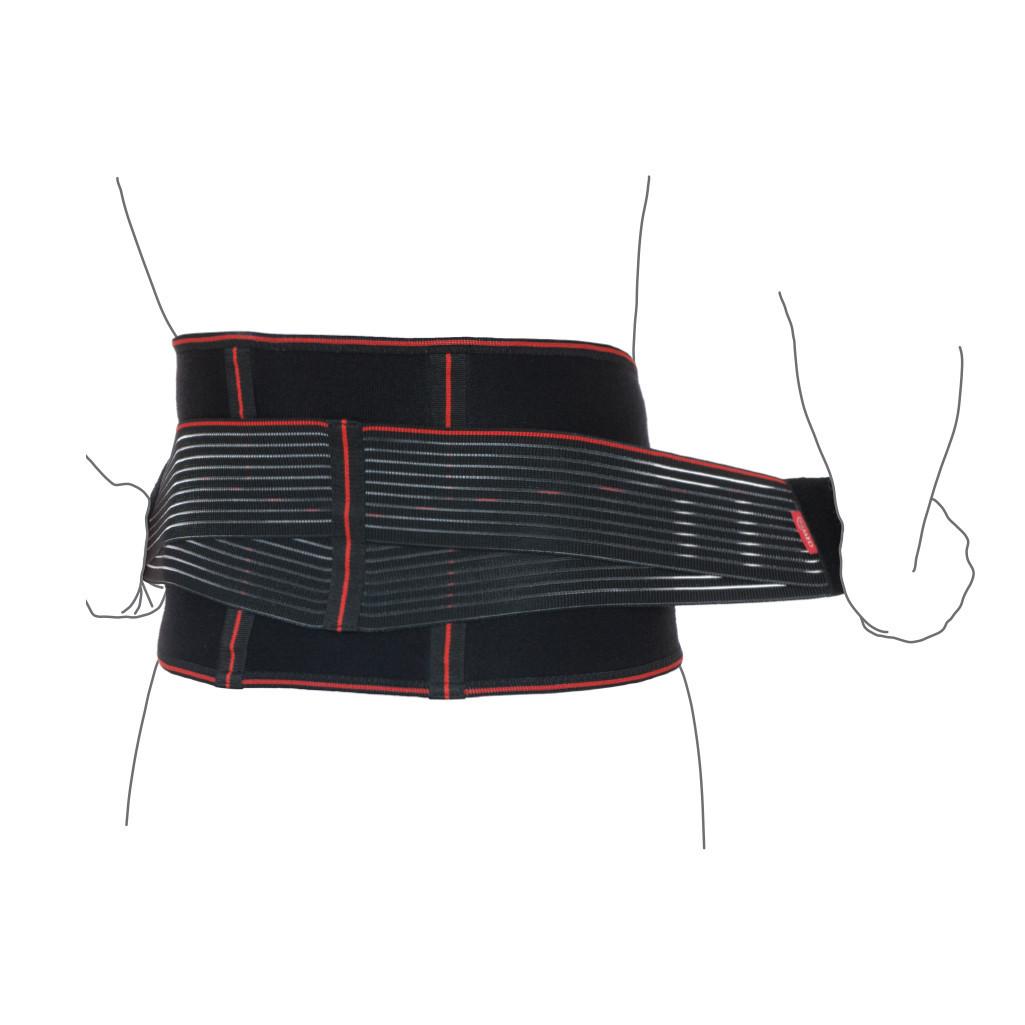 Пояс ортопедический аэропреновый с ребрами жесткости R3202 бандаж