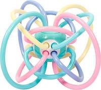 """Погремушка для детей """"Кольца"""" (розовая) Б 414"""