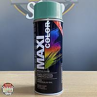 Эмаль универсальная Maxi Color, 400 мл Аэрозоль Мятно-бирюзовый (RAL 6033)