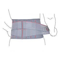 Пояс бандаж для спины поддерживающий с ребрами жесткости R3205