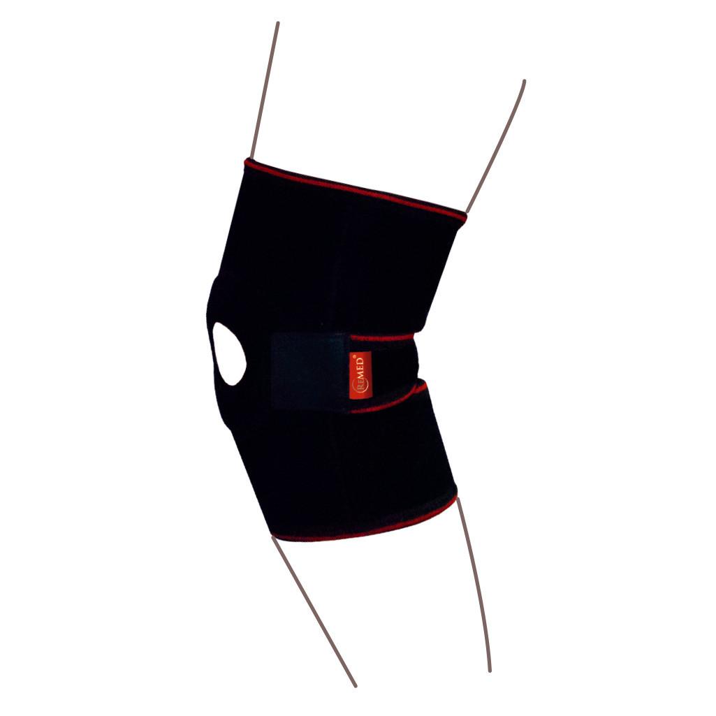Бандаж на коленный сустав с разъемный из спиральными ребрами жесткости  R6201