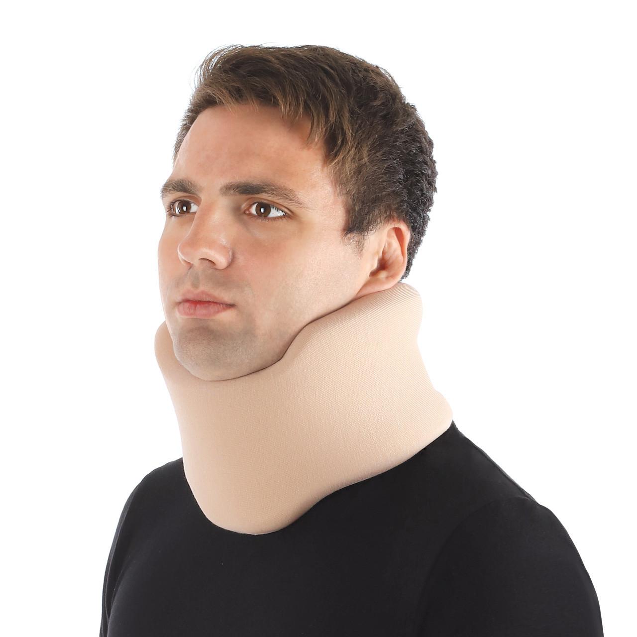 Бандаж для шеи шейных позвонков для взрослых ( воротник шанца ) , тип 710 бежевый