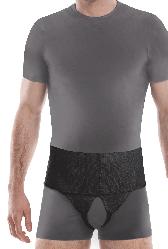 Бандаж для паховой грыжи (универсальный), тип 351 чёрный