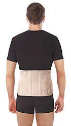 Бандаж поддерживающий для спины жесткий тип 213