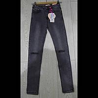 Подростковые модные стильные джинсы для девочек оптом GRACE