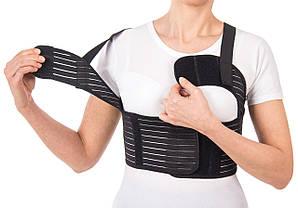 Бандаж для фиксации грудной клетки женский (пористый) Тип 155 Ж