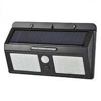 Настенный светодиодный светильник, master LED, 10W, 5500-6500K, на солнечной батарее, с датчиком движения