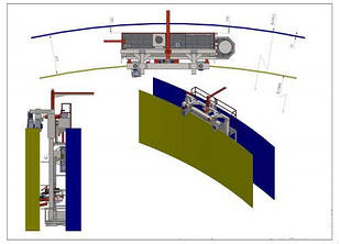 Установка для зварювання вертикальних двухстіночних резервуарів ROWES
